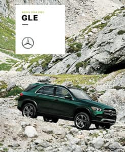 2020 GLE Mercedes-Benz brochure