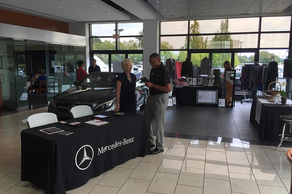 Mercedes-Benz of Midlothian partners with Mango Salon and Ellie Kai