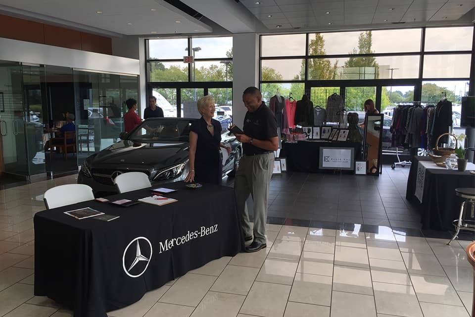 Mercedes-Benz of Midlothian partners with Mango Salon and Ellie Kai