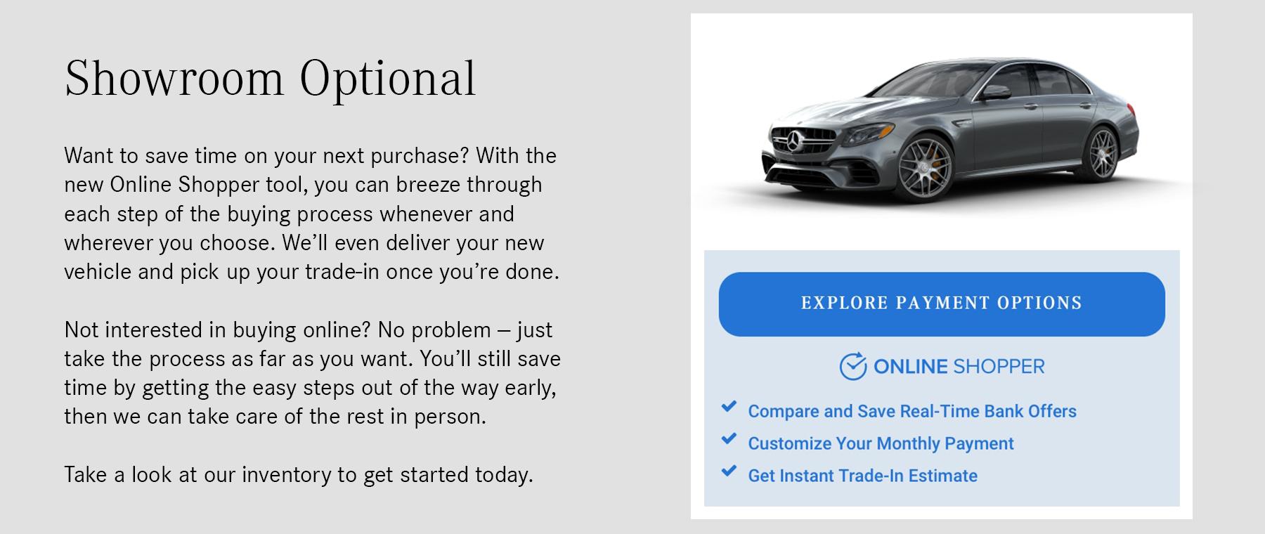 Online Shopper home page banner v2