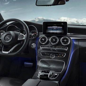 C-Class C300 coupe interior