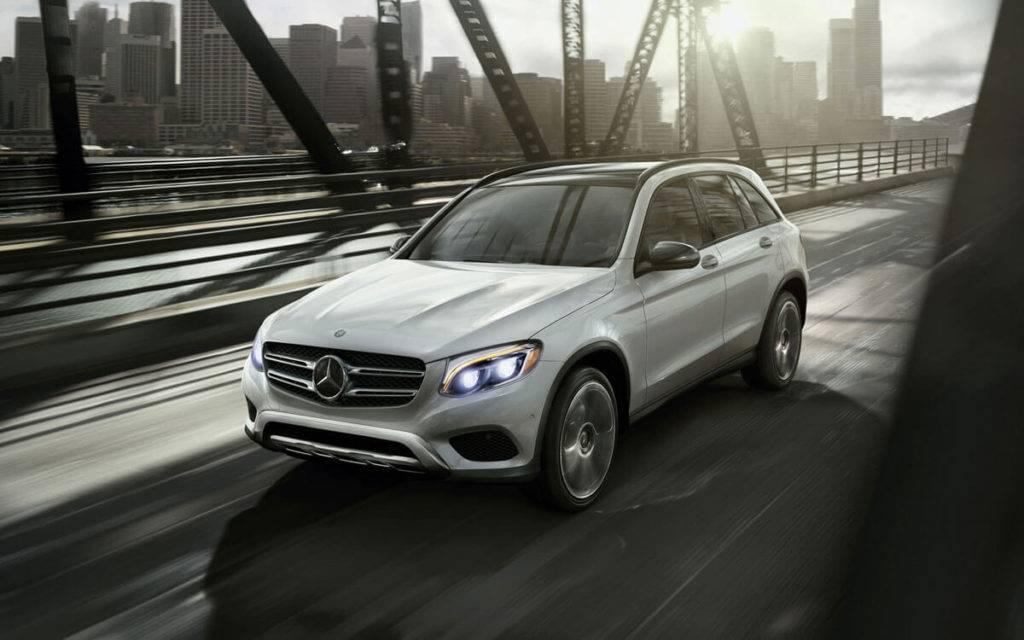 2017 GLC front view traversing bridge