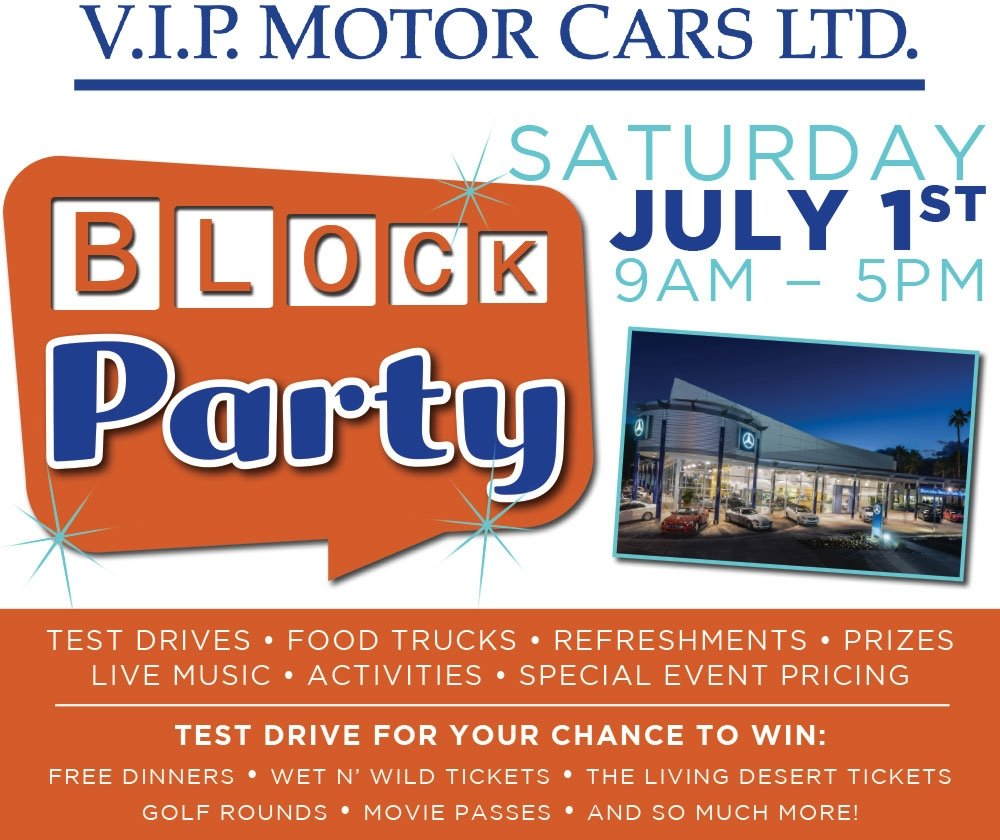 Block Party Flyer