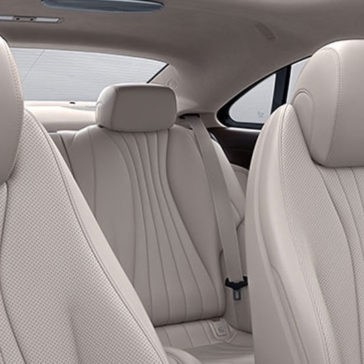2018 Mercedes-Benz E-Class seating