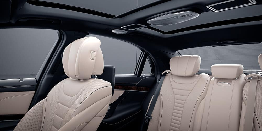 2018 Mercedes-Benz S-Class interior seating