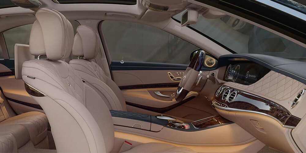 2018 Mercedes-Benz S-Class seating
