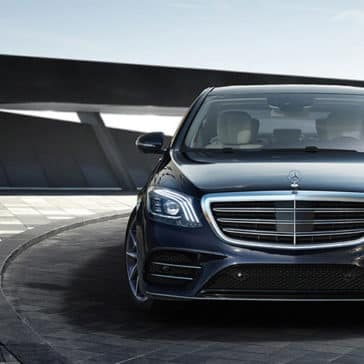 2018 Mercedes-Benz S-Class front view