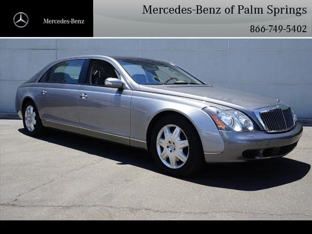 Pre-Owned 2004 Maybach 62 Sedan RWD