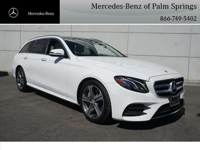 Certified Pre-Owned 2017 Mercedes-Benz E-Class E 400 Sport WAGON AWD 4MATIC®