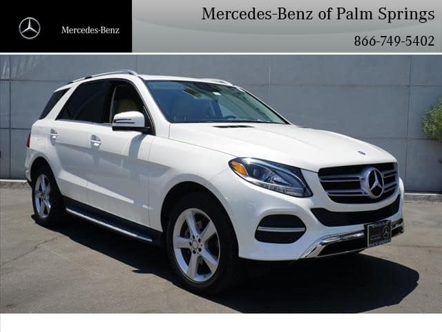Certified Pre-Owned 2017 Mercedes-Benz GLE 350 SUV