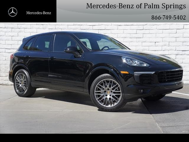 Pre-Owned 2017 Porsche Cayenne Platinum Edition SUV AWD