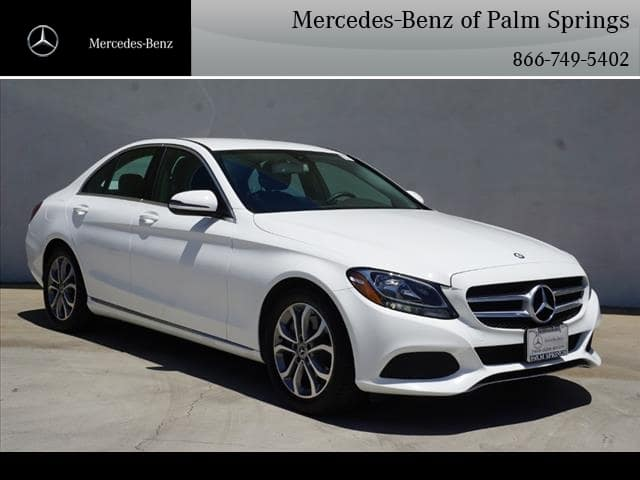 Pre-Owned 2017 Mercedes-Benz C-Class C 300 SEDAN