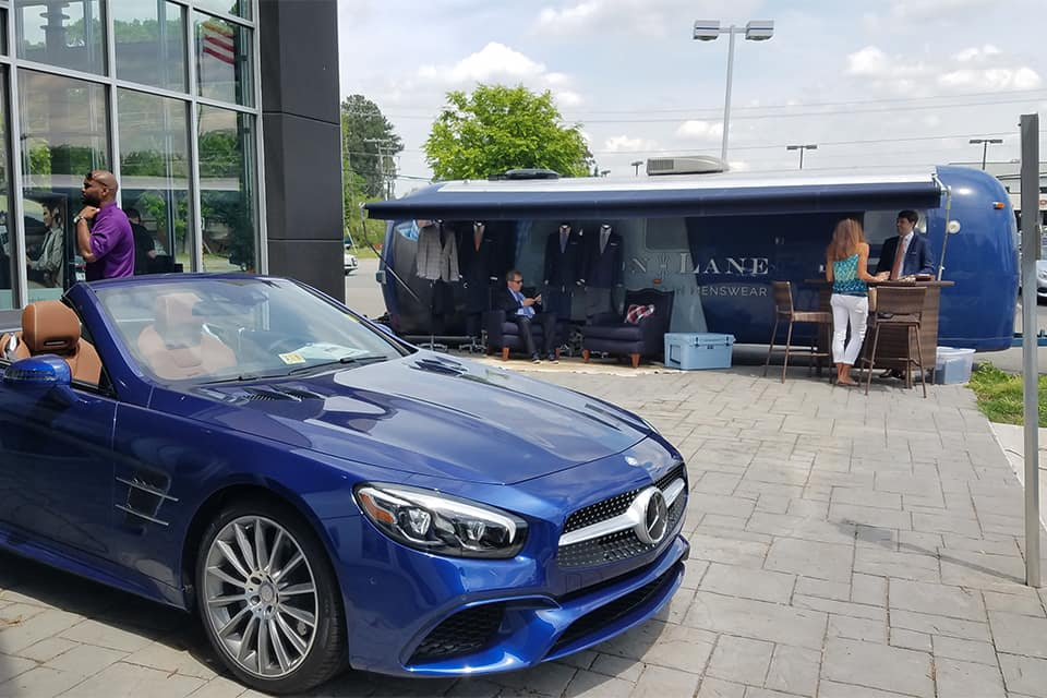 Mercedes-Benz of Richmond partners with Alton Lane for sales event