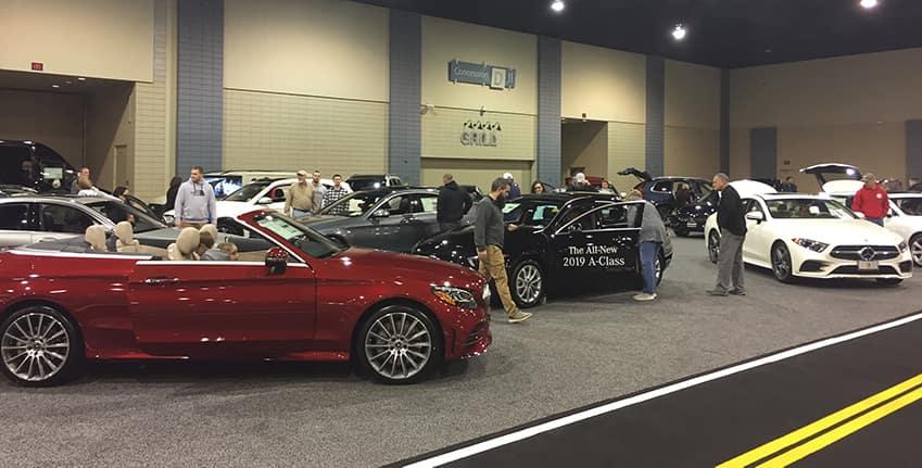 Mercedes-Benz of Richmond & Midlothian at the Auto Show ...