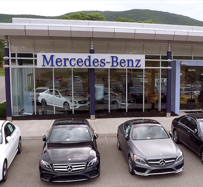 Experience luxury and prestige mercedes benz of roanoke for Mercedes benz dealer northern blvd