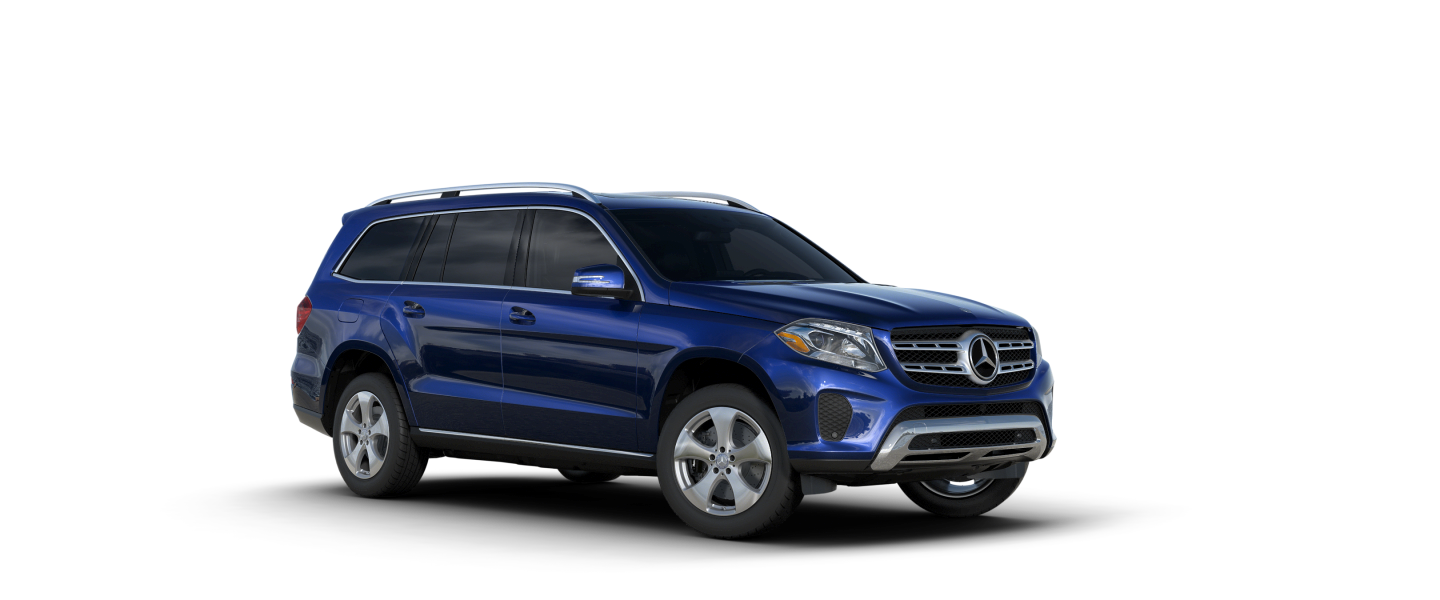2018 Blue Mercedes-Benz GLS 450