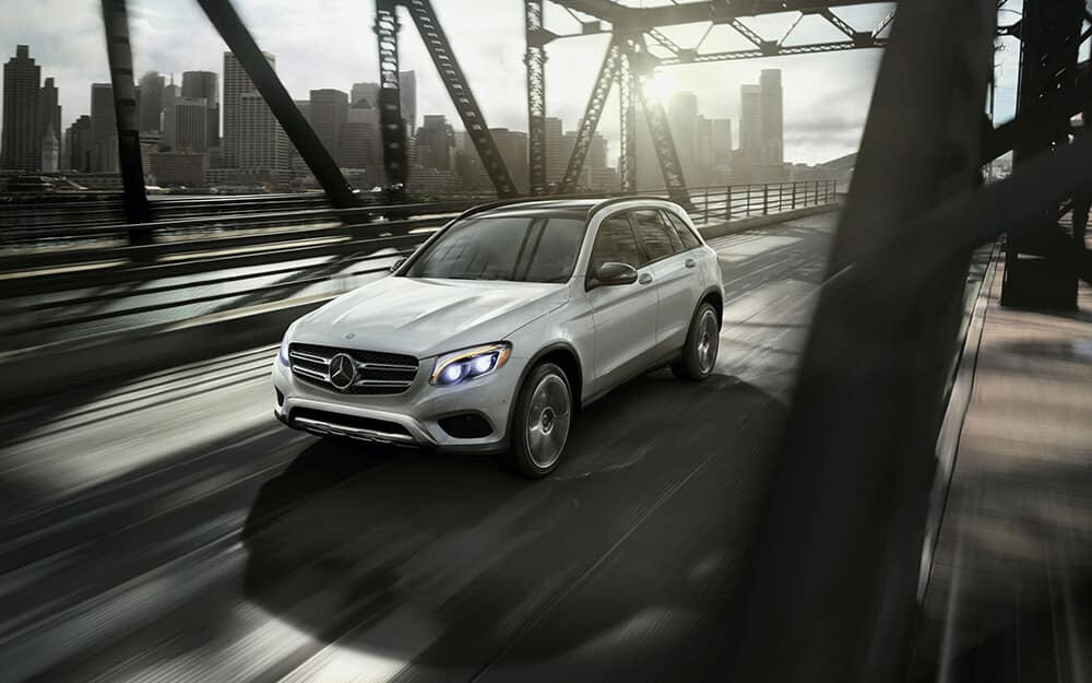 2018 MB GLC On Bridge