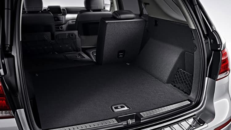 2018 MB GLE Cargo Space