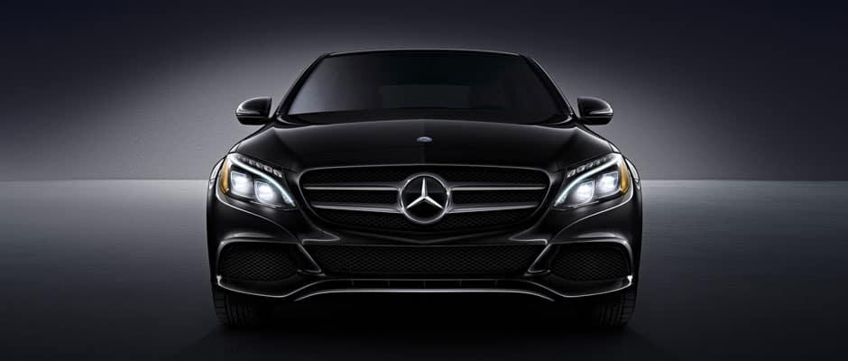 2018 Mercedes-Benz C-Class Black Front View