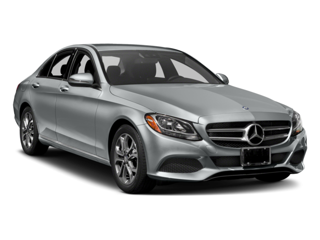2018 c-class side view