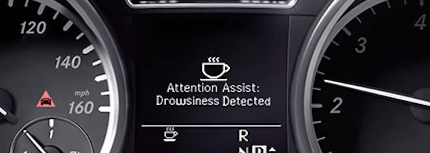 attention assist vehicle display