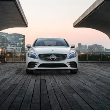 2019-Mercedes-Benz-C-Class-Sedan-white-front-exterior