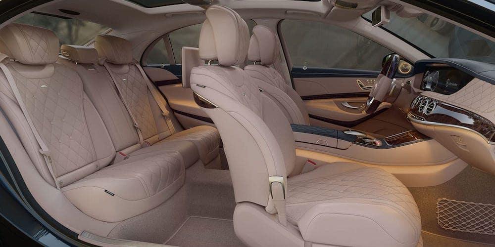 2019 Mercedes-Benz S-Class Wide Interior View