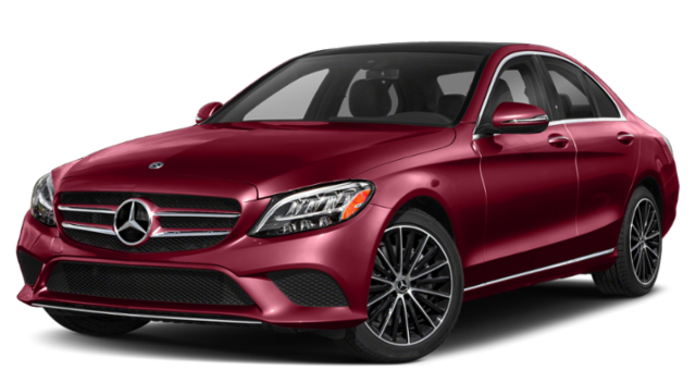 Red-2019-Mercedes-Benz-C-Class-Sedan
