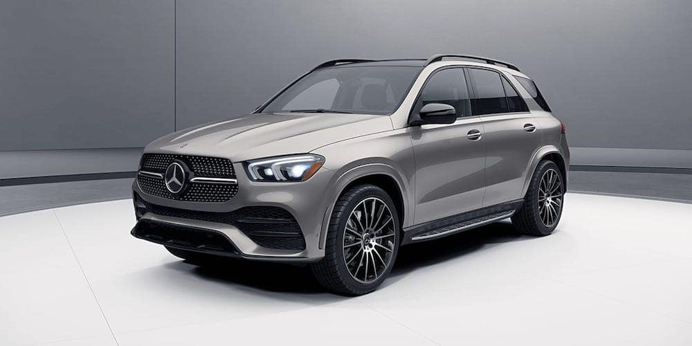 Silver 2020 Mercedes-Benz GLE Profile