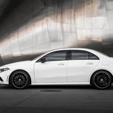 2019 MB A-Class Side View
