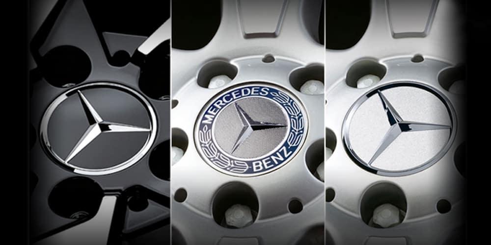 Mercedes-Benz Hub Cap Inserts