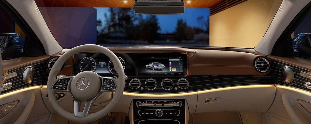 2020 Mercedes-Benz E-Class Front Dash