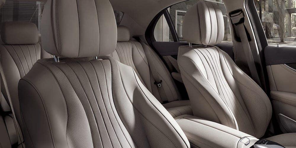 2020 Mercedes-Benz E-Class Rear Interior Seats