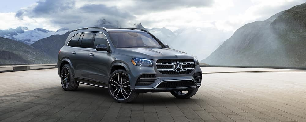 2020 Gray Mercedes-Benz GLS SUV