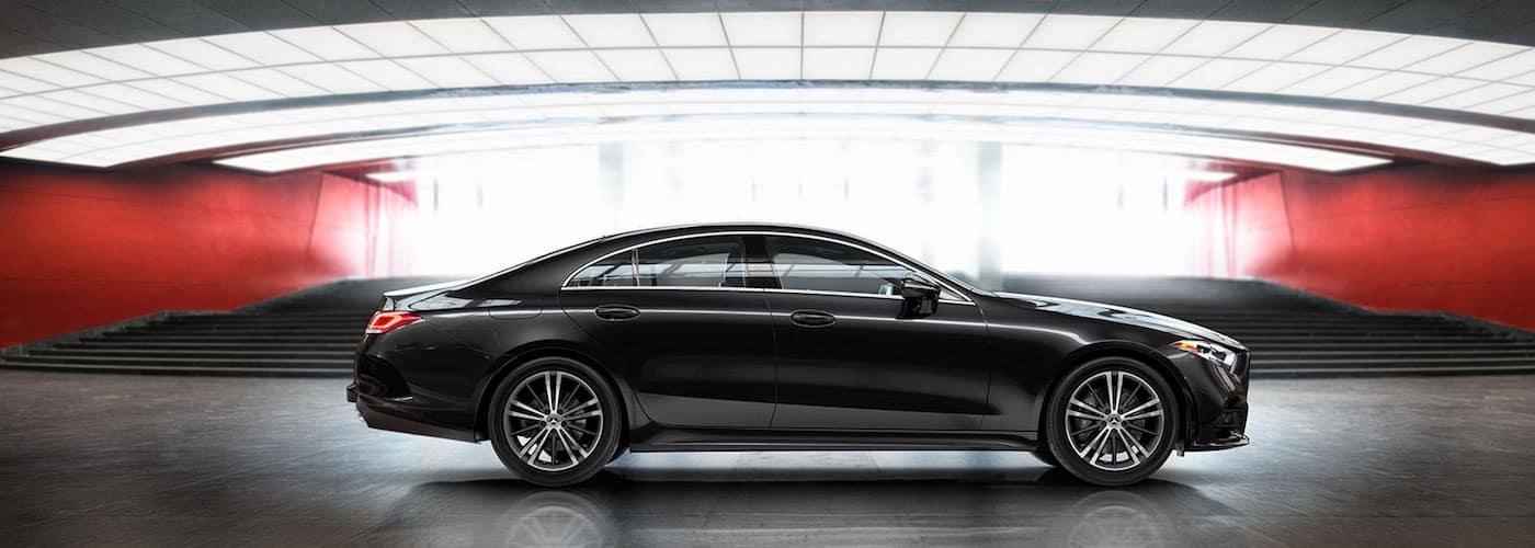 Black Mercedes-Benz Model Profile