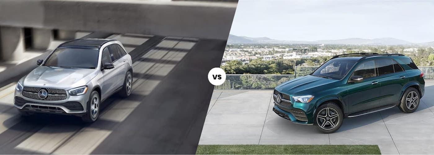 2020 Mercedes-Benz GLC vs. 2021 Mercedes-Benz GLE