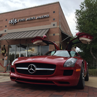 Mercedes benz of sugar land partners with new 18 8 men 39 s for Mercedes benz sugar land service hours