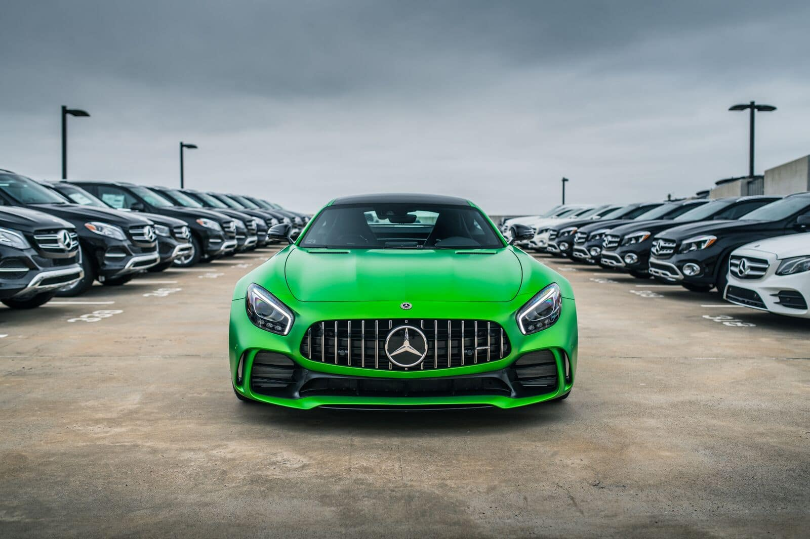 Mercedes-AMG GT R Arrival