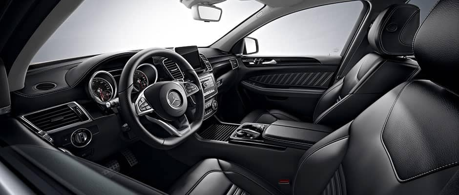 2019 GLE front seating