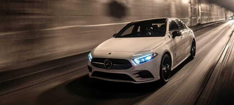 2019 Mercedes-Benz A-Class White Performance
