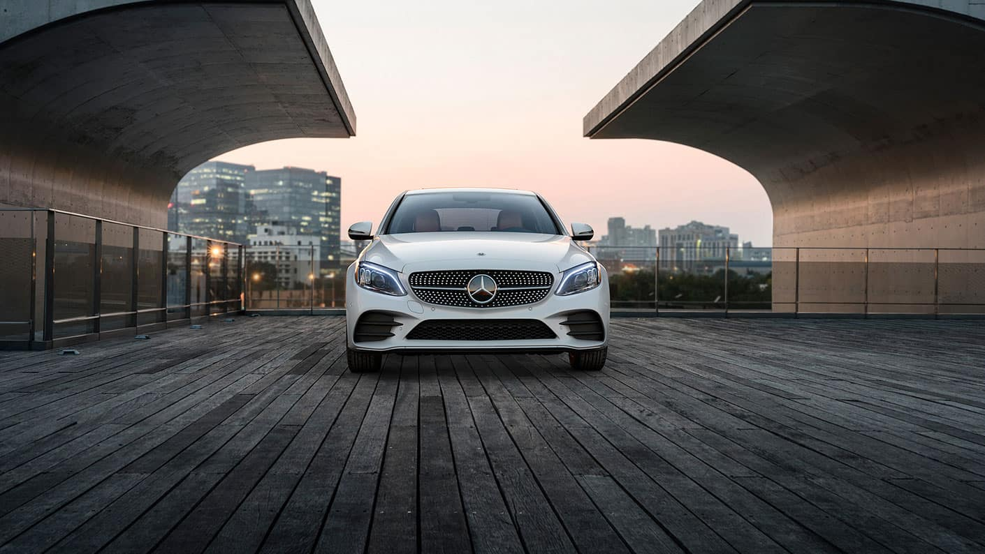2019-Mercedes-Benz-C-Class-Sedan-white-front