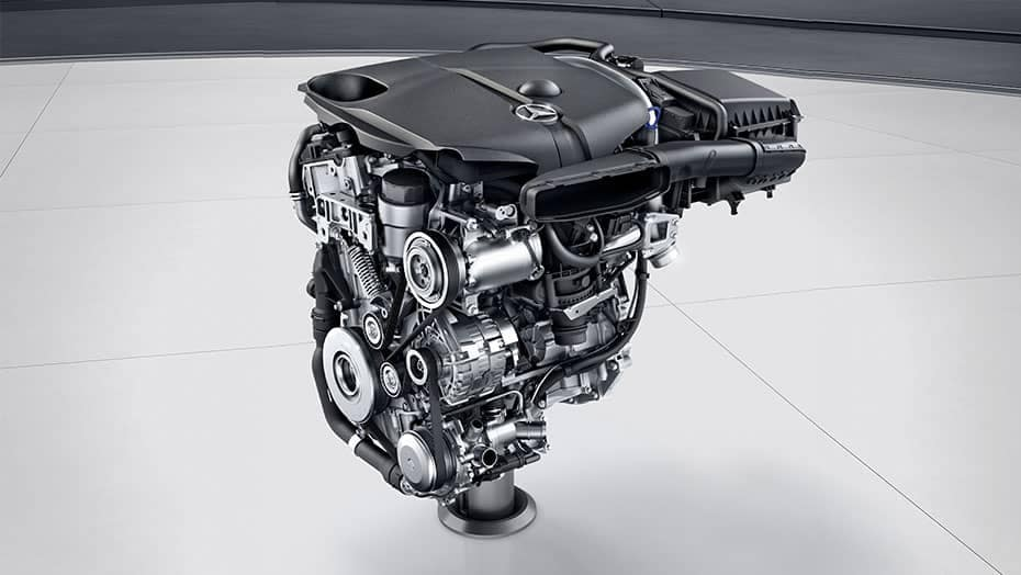 2019 MB CLA Engine