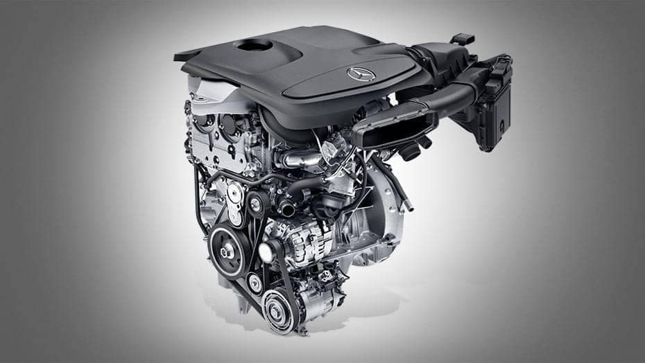 2019 MB GLA Engine