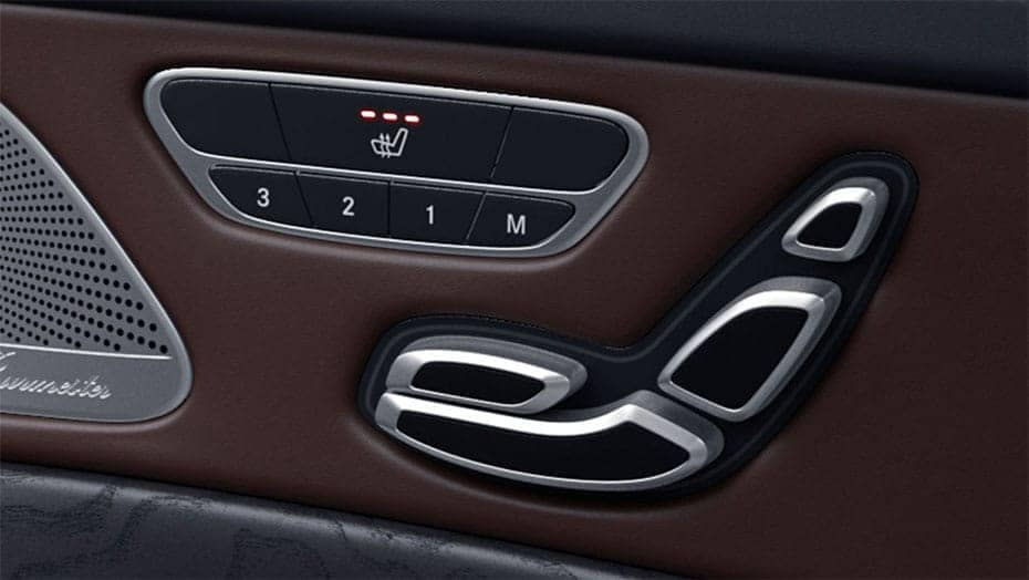 2019 MB S-Class Heated Seats