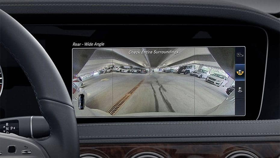 2019 MB S-Class Rear-View Camera
