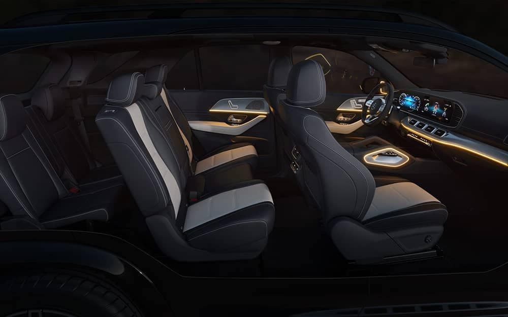 2020 MB GLE Interior Space