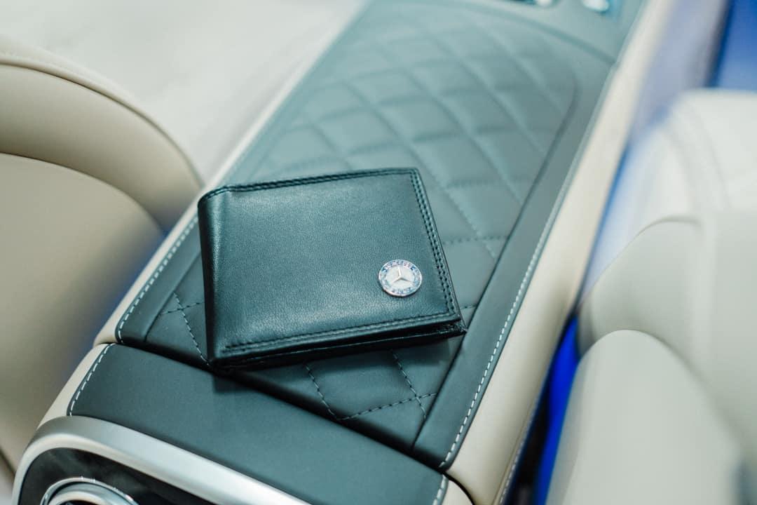 Mercedes-Benz Leather Wallet $45