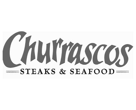 Churrascos Logo Gray