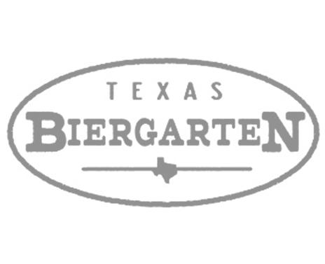 Texas Biergarten Logo Gray