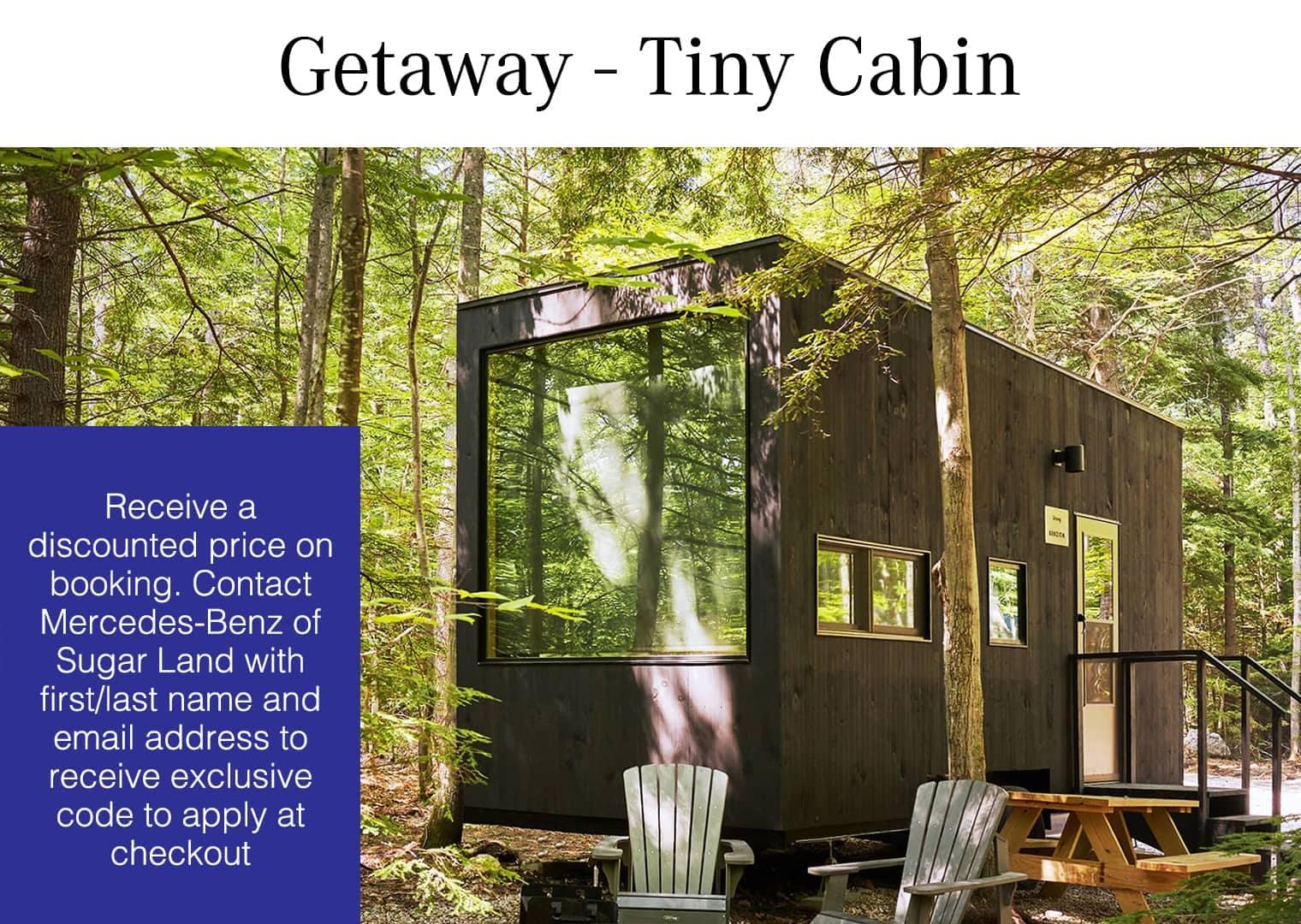 Getaway Tiny Cabin Slide